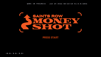 Saints Row Money Shot - logo in leaked version