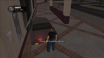 Theft - unload vehicle