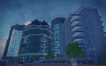 Tidal Spring in Saints Row 2 - buildings and Oring
