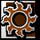 Ultor logo with shadow