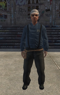 Utilityworker - white - character model in Saints Row