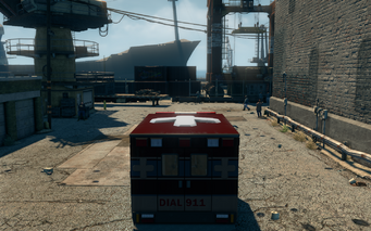 Ambulance - rear in Saints Row The Third