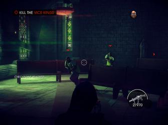 King Me - Kill the Vice Kings objective