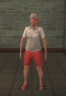 Lifeguard - hispanic female - character model in Saints Row 2