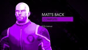 Matt's Back - complete