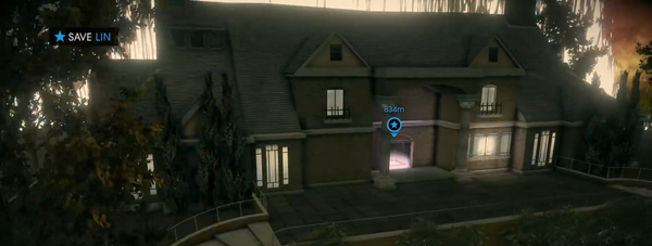 Price Mansion in a dev build of Saints Row IV in the 10th Anniversary livestream