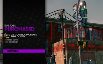 Rim Jobs 2 in Camano Place purchased in Saints Row The Third
