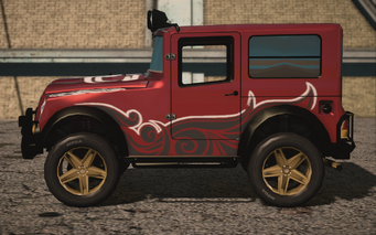 Saints Row IV variants - Swindle BH with decals - left