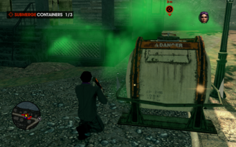 Zombie Attack container side