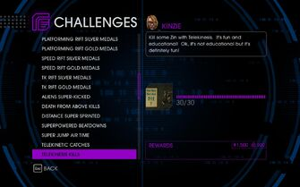 Challenge 34 Telekinesis Kills