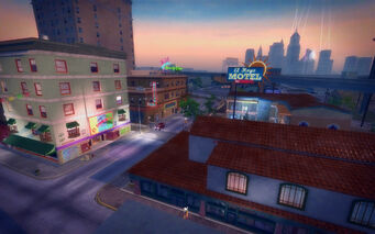 Ezpata in Saints Row 2 - El Hoyo motel