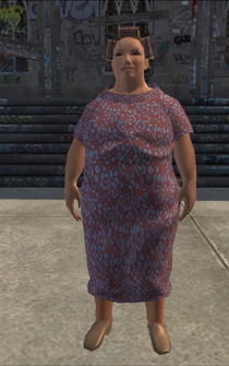 FatLady - white - character model in Saints Row
