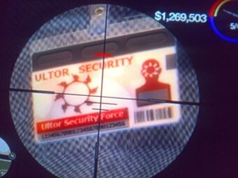 Ultor Security Guard - zoomed badge