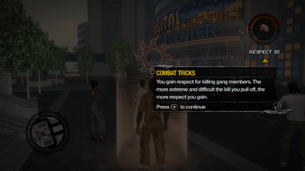Combat Tricks tutorial in Saints Row 2