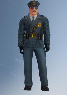 Cop - Jones - character model in Saints Row IV