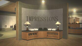 Impressions in Harrowgate - interior entrance