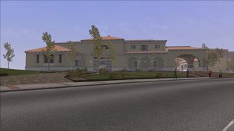 Lopez Mansion exterior in Saints Row