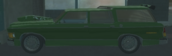 Mark Gabby's Wellington left in Saints Row 2