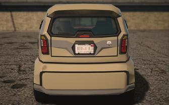 Saints Row IV variants - Emu Average - rear