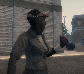 Satchel Charge Detonator in hand