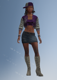 Aisha - character model in Saints Row IV