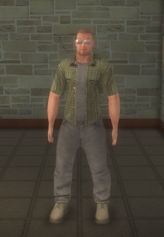 Construction - white generic - character model in Saints Row 2