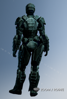 Customization Item in Saints Row IV - Suits - Iron Saint rear