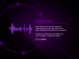 De Plane Boss reward audio logs