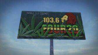 Four20 billboard in Sommerset