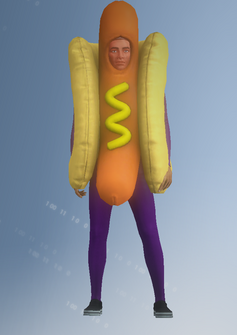 Gang Customization - Mascot 5 - Hotdog - in Saints Row IV