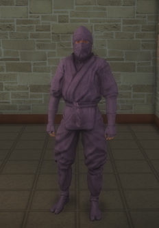 Gang Customization - Ninjas - male soldier 1 - black