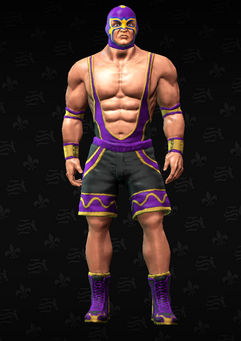 Gang Customization - Wrestler 1 - Pedro - in Saints Row The Third