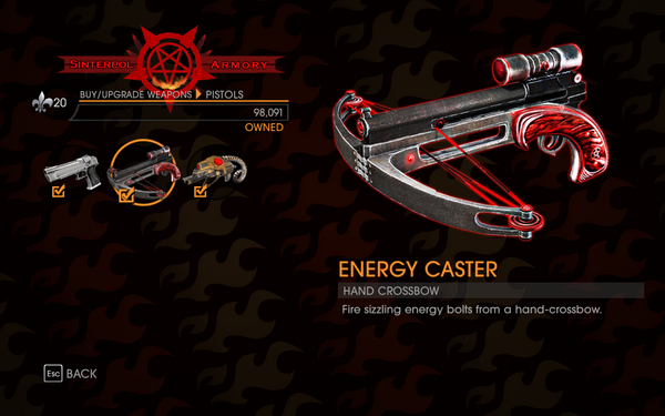 Gat out of Hell - Hand Crossbow