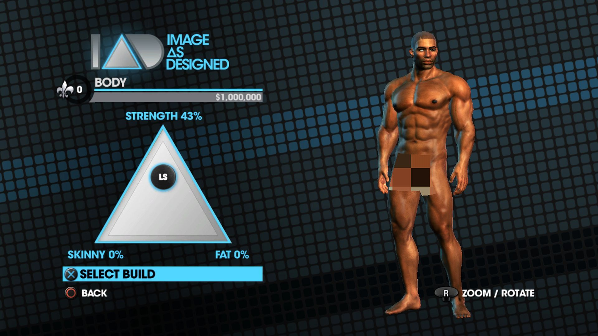Image As Designed - Build triangle promo for Saints Row The Third