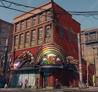 Let's Pretend - exterior in Saints Row The Third