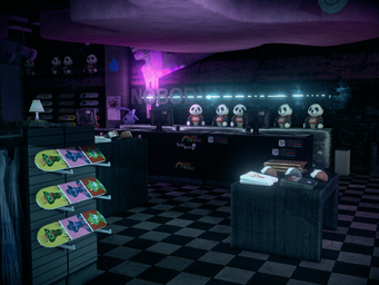 Nobody Loves Me interior without UI in Saints Row IV