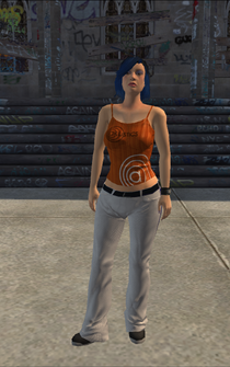 Racing - Libby - character model in Saints Row