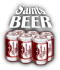 Saints Row 2 clothing logo - beer