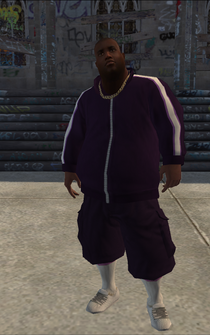 Saints male Thug2-01 - Black - character model in Saints Row