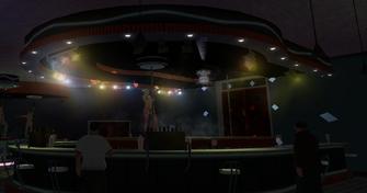 Technically Legal - Misty Lane - interior wide bar