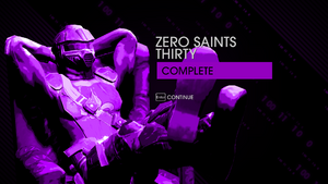 Zero Saints Thirty complete