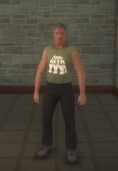 Zombiekiller male - character model in Saints Row 2