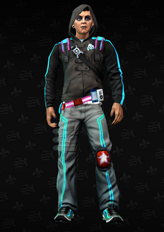 Deckers Soldier 4 - Chester - character model in Saints Row The Third