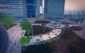 Filmore in Saints Row 2 - park