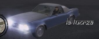 La Fuerza - front left with logo and lights in Saints Row 2