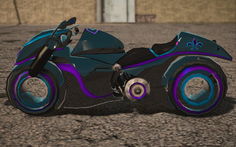 Saints Row IV variants - X-2 Phantom Average - left