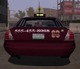 Taxi - rear in Saints Row