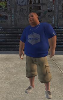 Westside Rollerz male Thug2-01 - asian - character model in Saints Row