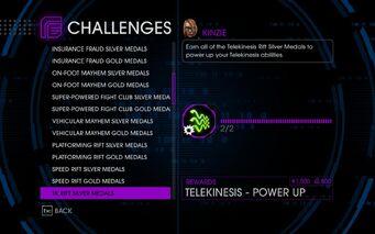 Challenge 26 TK Rift Silver Medals