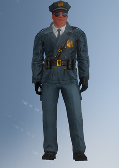 Cop - Mayweather - character model in Saints Row IV